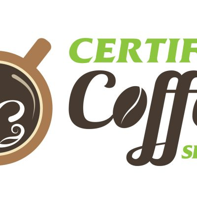 Certified Coffee Services logo design