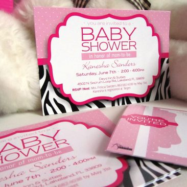 Baby Shower Postcard Invitations