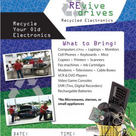Revive Drives Poster design, event marketing