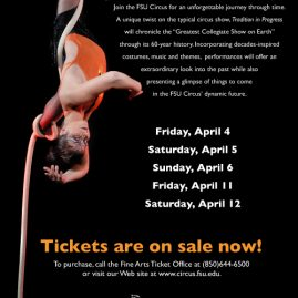 "FSU Circus ""Traditions In Progress"" Advertisement"