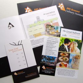 ARC Culinary Media Kit materials