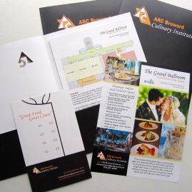 ARC Culinary Media Kit materials