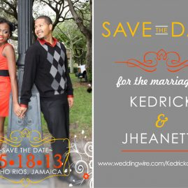 Save the Date Postcard - JKR
