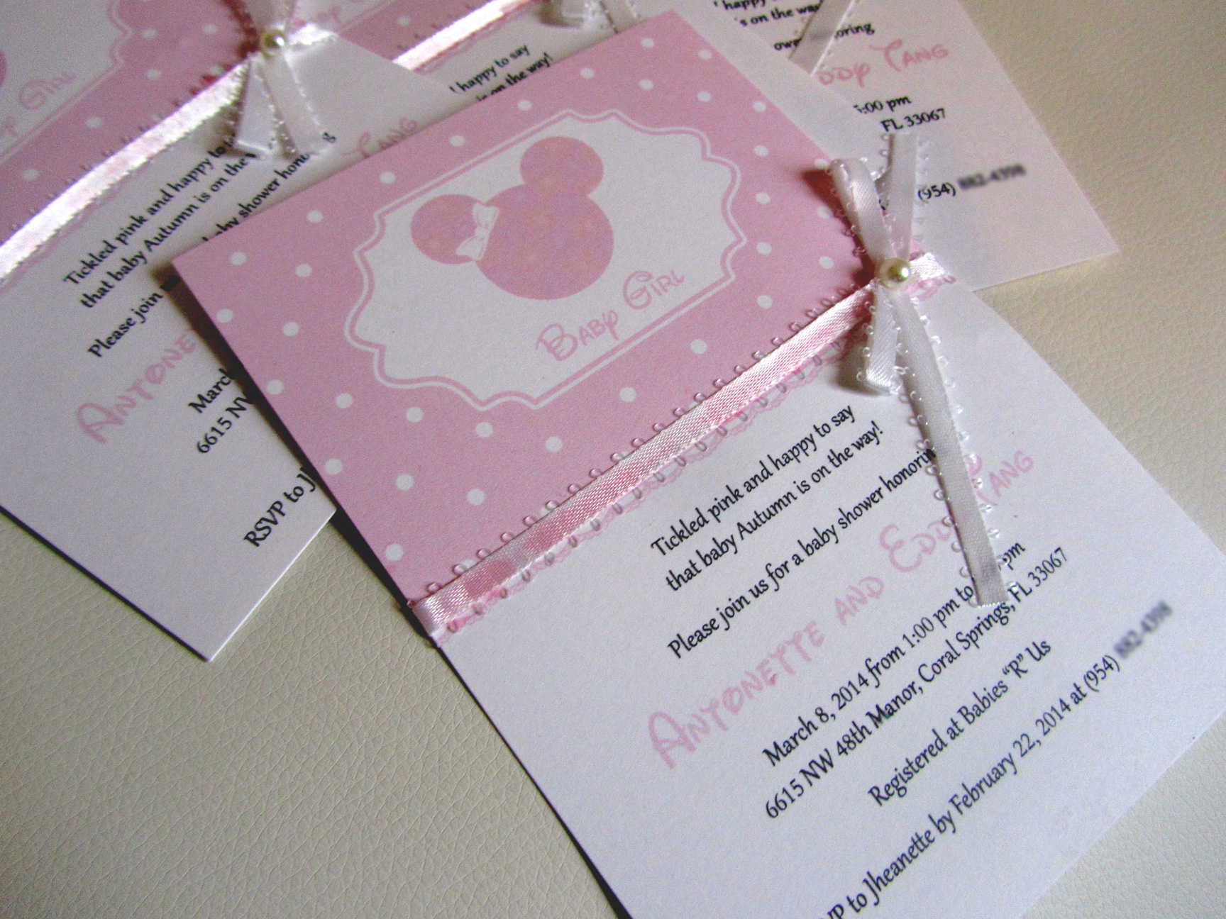 Minnie Mouse Invitations Baby Shower with adorable invitation example
