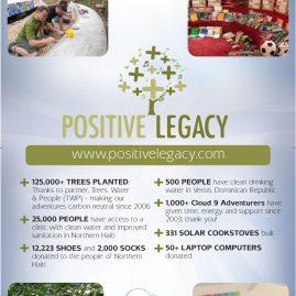 Positive Legacy banner design
