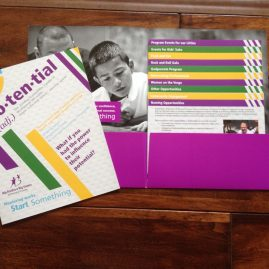 "Big Brothers Big Sisters of Broward ""Potential"" Brochure"