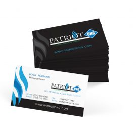 Patriot business card