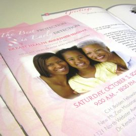 Breast cancer awareness program design
