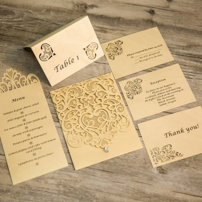 Diamond Accent Vertical (Matching Laser Cut Cards Available) - WRL0005