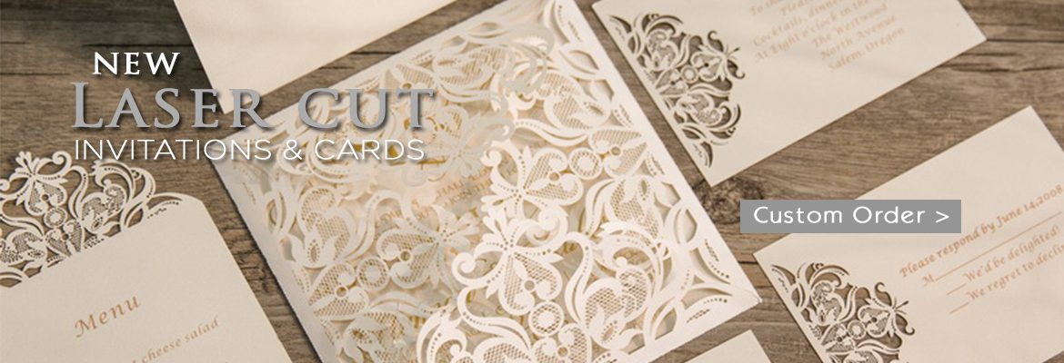 Laser Cut Stationery and Invitations