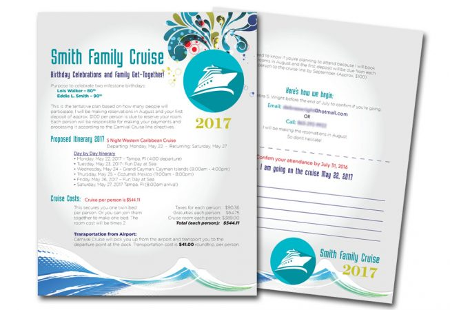 Family Cruise Flyer