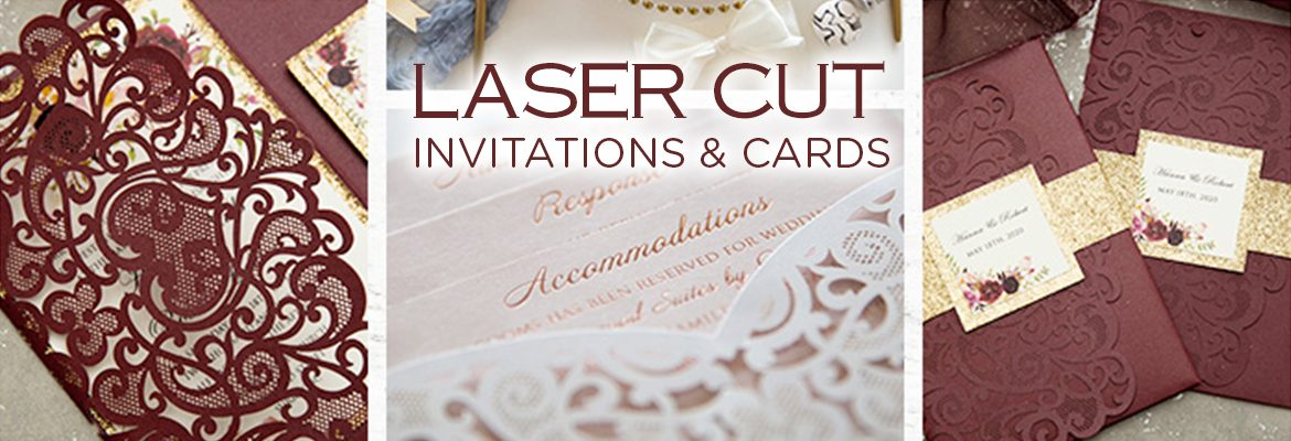 Laser Cut Invitations and cards